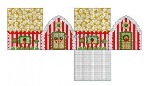 click here to view larger image of Popcorn House (hand painted canvases)
