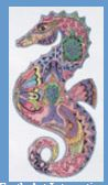 click here to view larger image of SeaHorse (hand painted canvases)