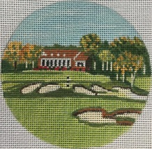 click here to view larger image of Bethpage Black NY Ornament (hand painted canvases)