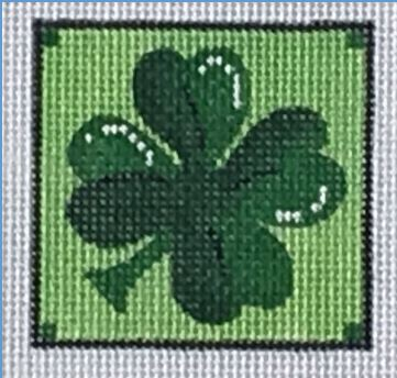 click here to view larger image of Pocket Project Shamrock (hand painted canvases)