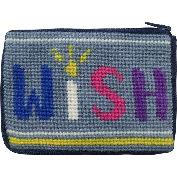 click here to view larger image of Wish Coin Case (needlepoint kits)