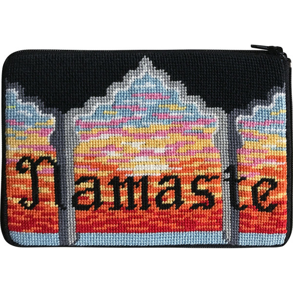click here to view larger image of Namaste Purse (needlepoint kits)