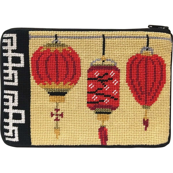 click here to view larger image of Chinese Lanterns Purse (needlepoint kits)