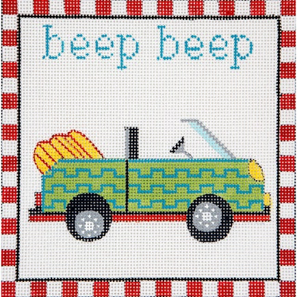 click here to view larger image of Beep Beep Convertable (hand painted canvases)