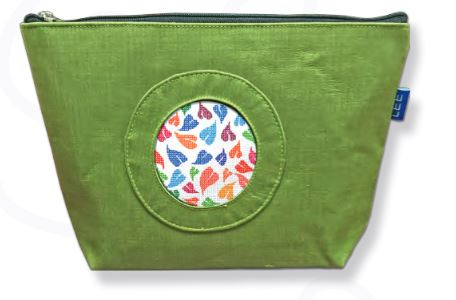 click here to view larger image of Silk Bag - Green (accessories)