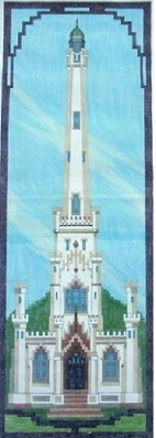 click here to view larger image of Chicago Water Tower (hand painted canvases)