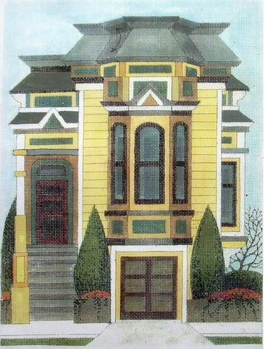 click here to view larger image of Baker Street Mansard (hand painted canvases)