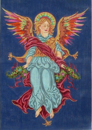 click here to view larger image of Angel Panel (hand painted canvases)