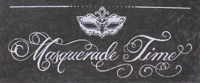 click here to view larger image of Masquerade Time (hand painted canvases)