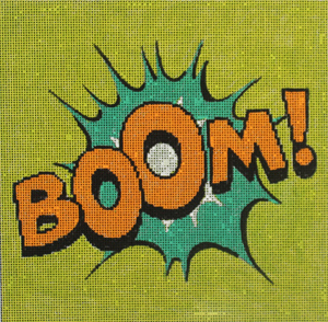 click here to view larger image of Boom! (hand painted canvases)