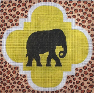click here to view larger image of Black Elephant (hand painted canvases)