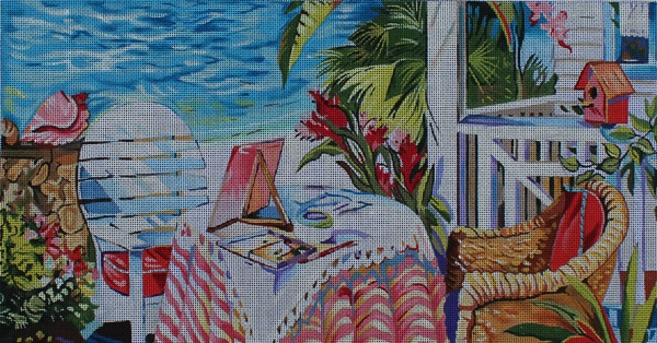 click here to view larger image of Artist in Paradise (hand painted canvases)