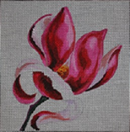 click here to view larger image of Pink Magnolia (hand painted canvases)