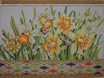click here to view larger image of Daffodils (hand painted canvases)