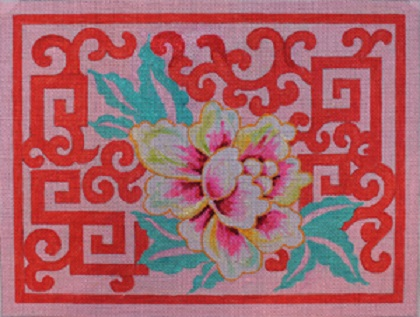click here to view larger image of Oriental Hibiscus (hand painted canvases)