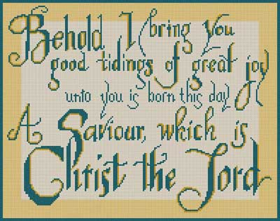 click here to view larger image of Behold I Bring You (hand painted canvases)