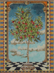 click here to view larger image of Fruit Tree (hand painted canvases)