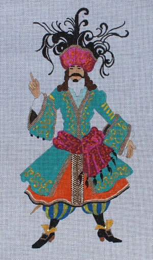 click here to view larger image of Pirate (hand painted canvases)