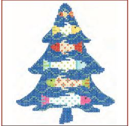 click here to view larger image of Funky Fish Tree Stitch Guide (books)