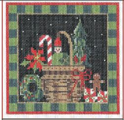 click here to view larger image of Christmas Basket Stitch Guide (books)