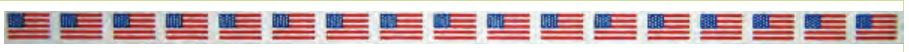 click here to view larger image of American Flag Belt (hand painted canvases)