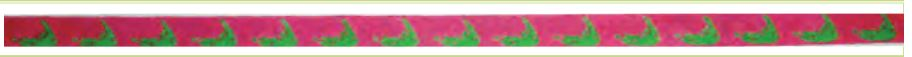 Nantucket Islands Belt - Pink and Green - click here for more details