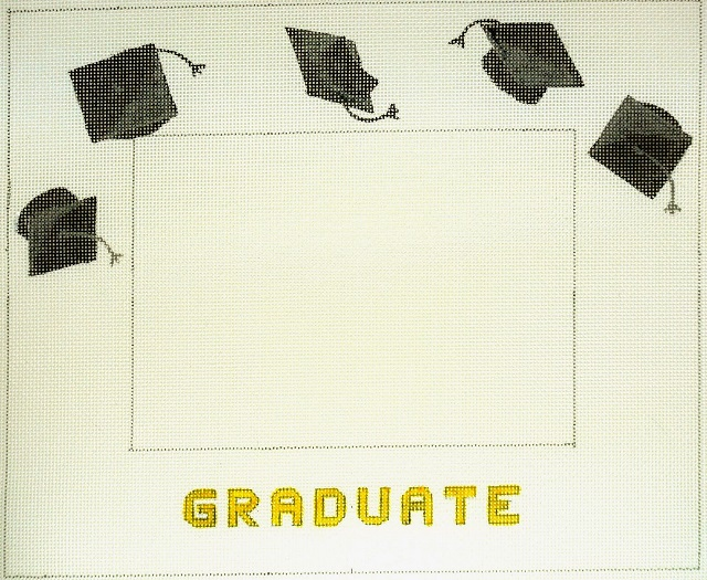 click here to view larger image of Graduation Frame (hand painted canvases)