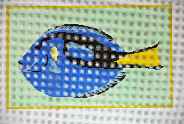 click here to view larger image of Blue Tang (hand painted canvases)