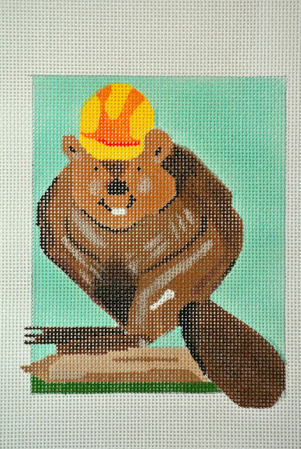 click here to view larger image of Beave Said The Beaver (hand painted canvases)