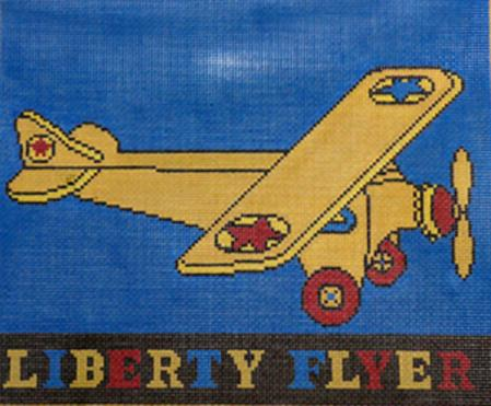 click here to view larger image of Liberty Flyer (hand painted canvases)
