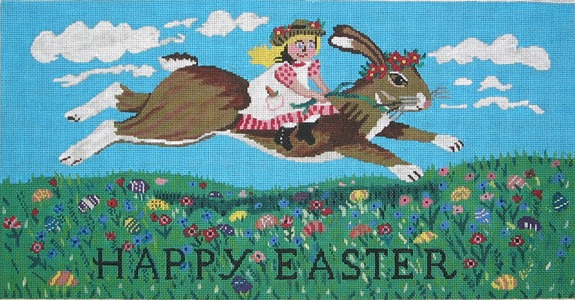 click here to view larger image of Happy Easter (hand painted canvases)
