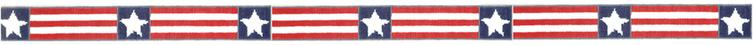 click here to view larger image of America Belt (hand painted canvases)