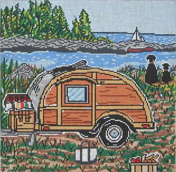 click here to view larger image of Nova Scotia Woody - 18ct (hand painted canvases)