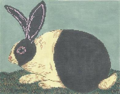 click here to view larger image of Cozy Bunny (hand painted canvases)
