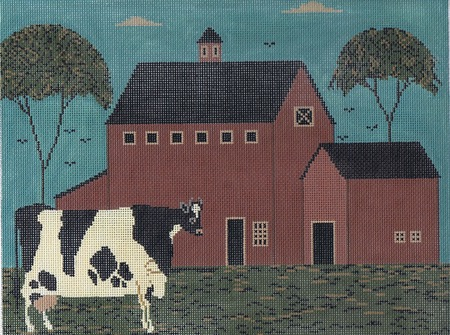 click here to view larger image of Nellies Barn (hand painted canvases)