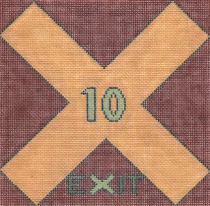click here to view larger image of Exit/Roman 10 (hand painted canvases)