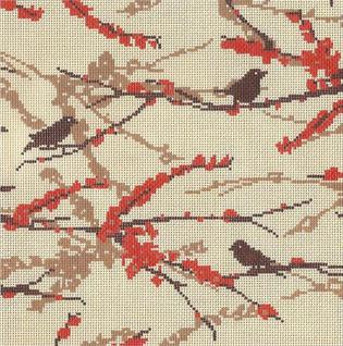 click here to view larger image of Sparrows - Bark (hand painted canvases)
