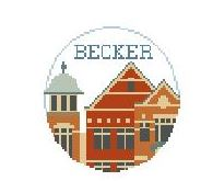 click here to view larger image of Becker College (hand painted canvases)