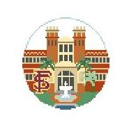 click here to view larger image of Florida State University (hand painted canvases)