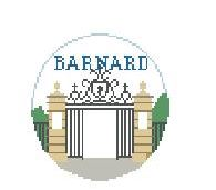 click here to view larger image of Barnard College (hand painted canvases)