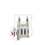 click here to view larger image of St Josephs, Philadelphia Mini Sock (hand painted canvases)