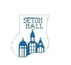 click here to view larger image of Seton Hall Mini Sock (hand painted canvases)