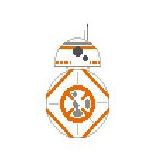 click here to view larger image of BB8 (hand painted canvases)