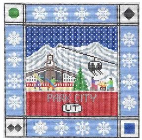 click here to view larger image of Park City Utah (hand painted canvases)