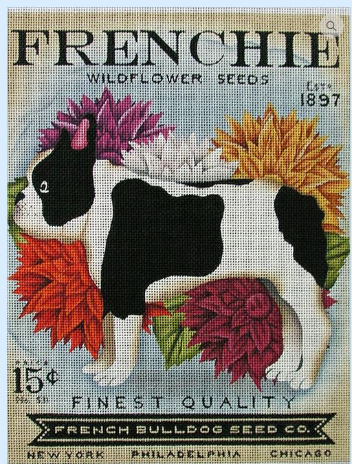 click here to view larger image of Frenchie Widflower Seeds (hand painted canvases)