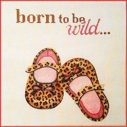 click here to view larger image of Born To Be Wild (hand painted canvases)