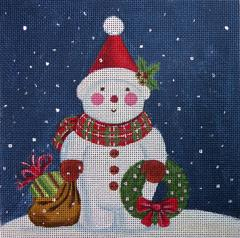 click here to view larger image of Mister Buttons (hand painted canvases)