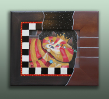 click here to view larger image of Frame For A Knight's Dream (Custom painted frames)