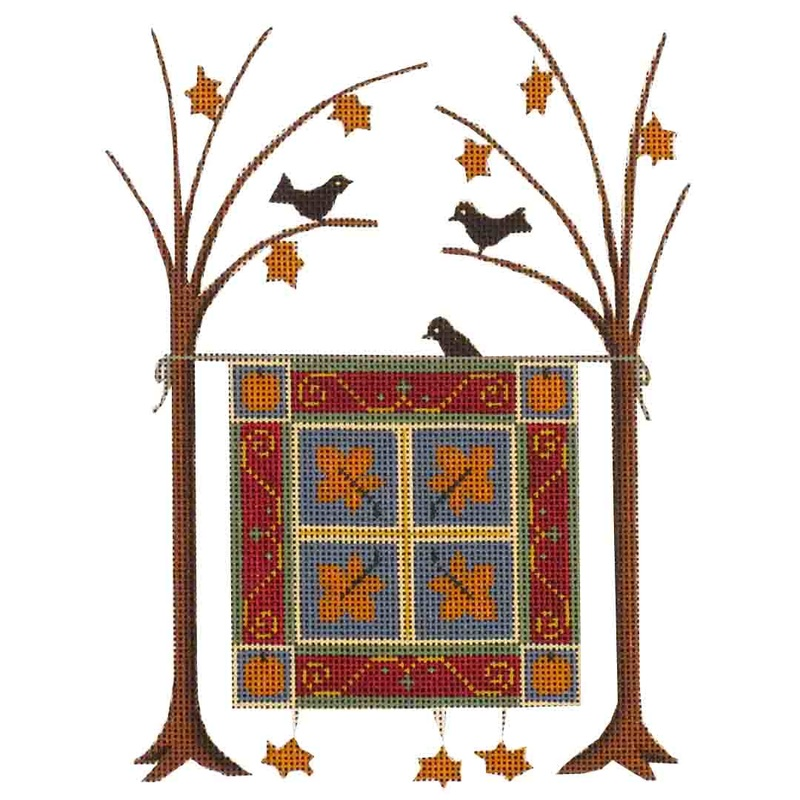 click here to view larger image of Harvest Blanket (hand painted canvases)