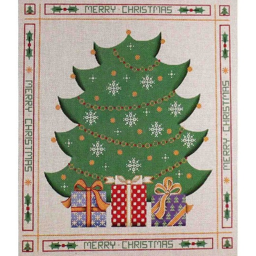 click here to view larger image of Advent Tree (hand painted canvases)